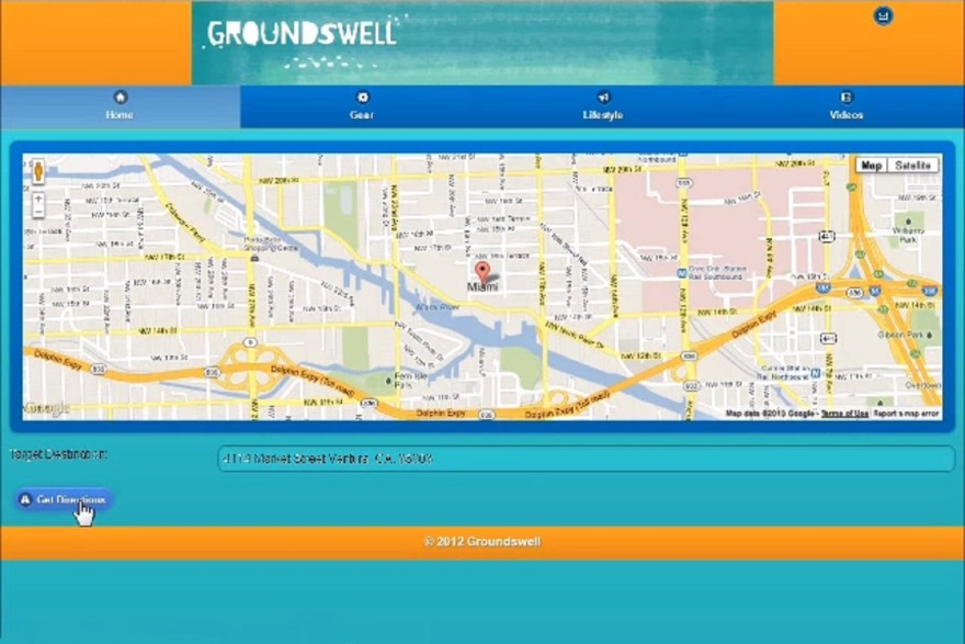 JQuery Mobile Geolocation